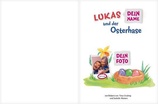 """""""Mein Osterbuch"""" - dein Kind wartet auf den Osterhasen. Ein personalisierbares #Kinderbuch von framily. #Osterbuch #Osterhase #Geschenkidee #framily"""