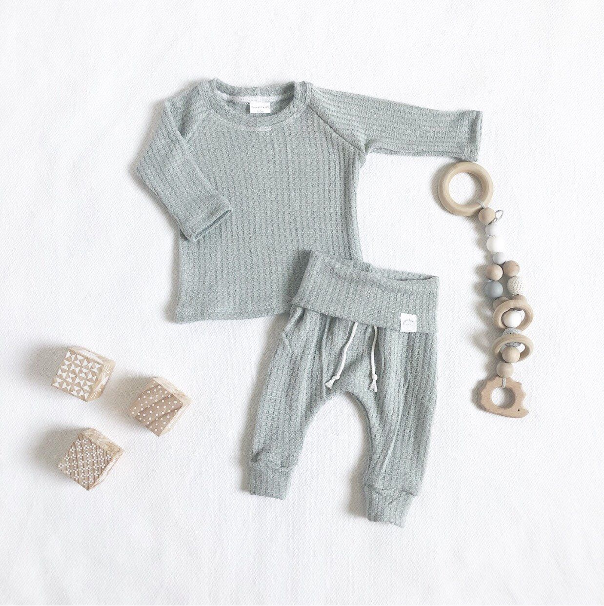 Photo of Baby blue outfit, baby boy clothes, coming home outfit, hospital baby clothes.