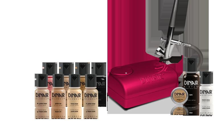 Danair Airbrush makeup kit Designer color