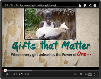 Give a Goat as a Gift | Gifts That Matter