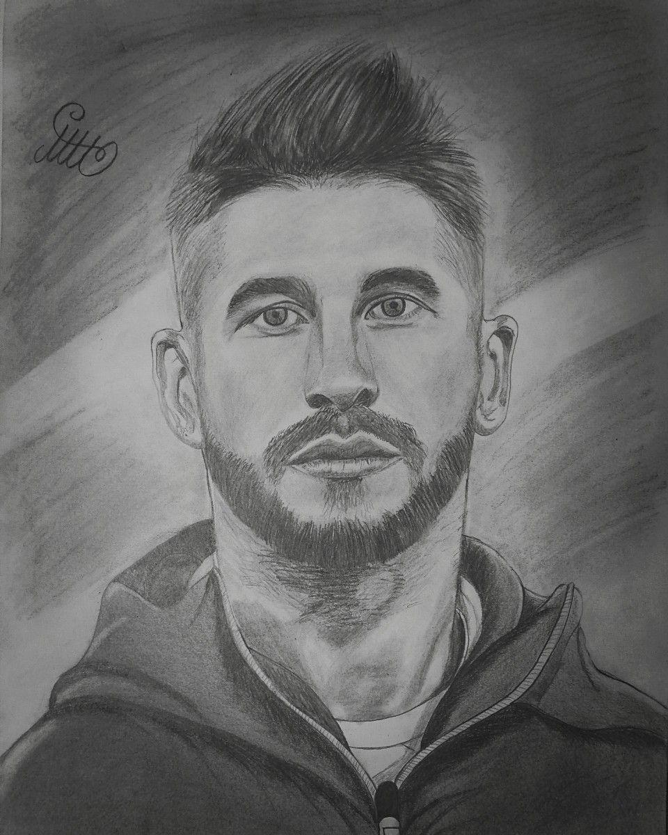 Pin on Atta |Sergio Ramos 2020 Drawing