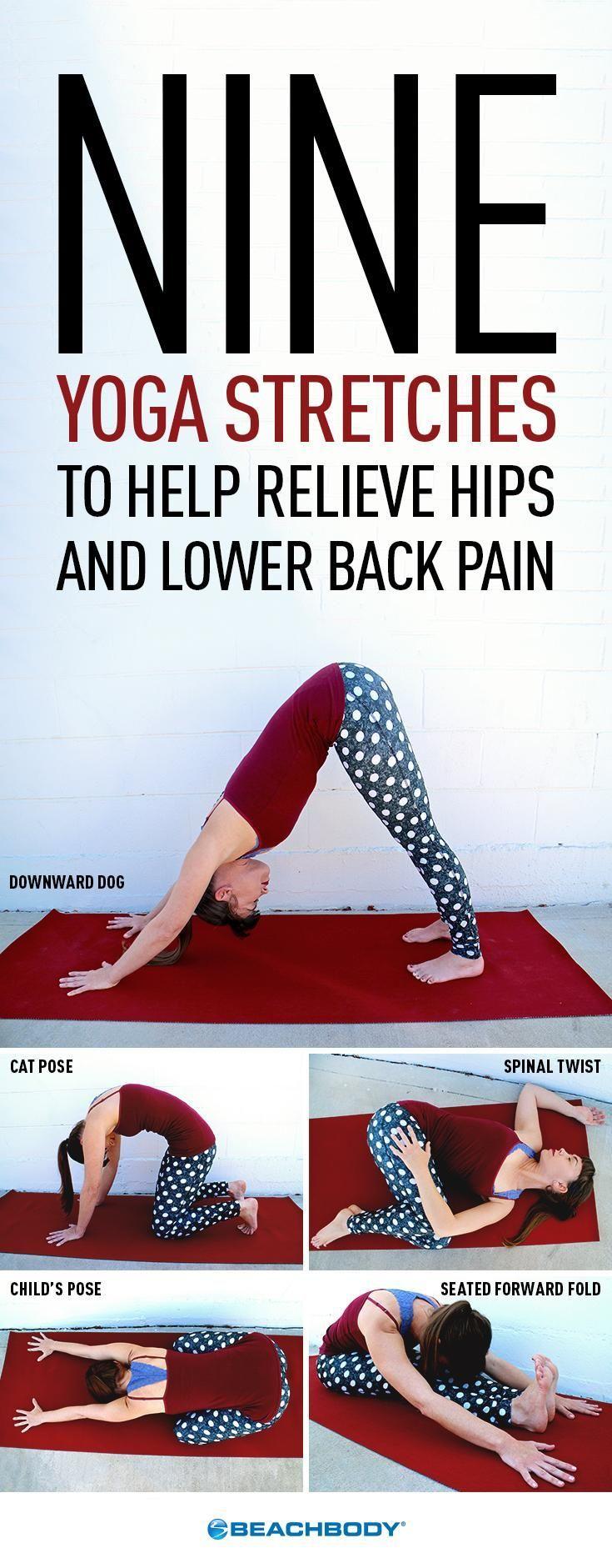 Estos nueve estiramientos suaves pueden ayudar a aliviar el dolor de ...