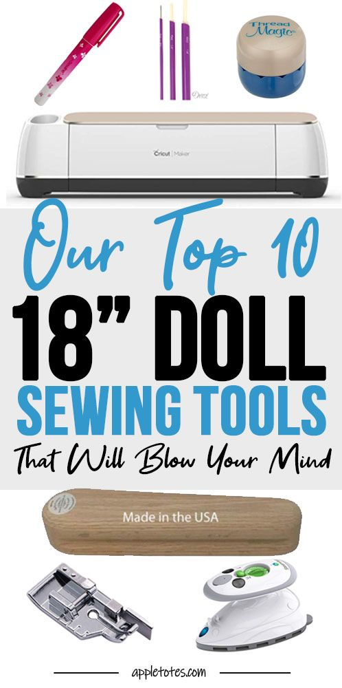 Doll Sewing Tools You Don't Know You Need! Our Top 10 Tools for Sewing Tiny Garments #dollaccessories