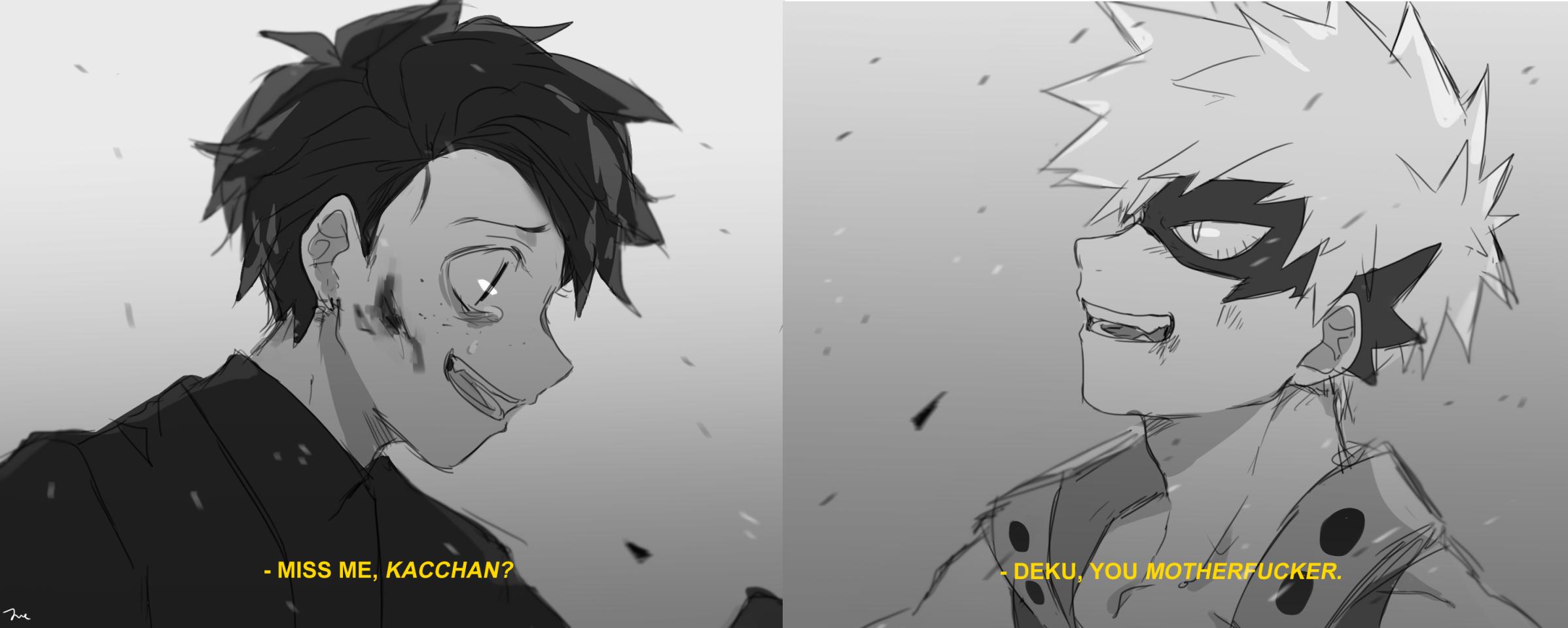 BNHA Izuku (Villain), Katsuki | My Hero Academia | My hero academia