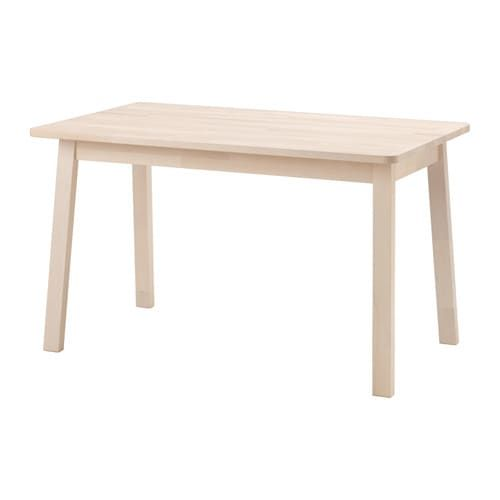 Norr ker table white birch in 2019 furniture for Mobilia kitchen table