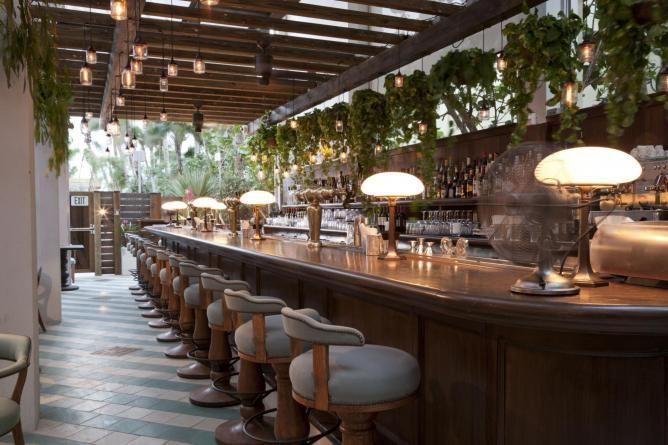 Exclusive Hotel Interior Design Of Soho Beach House Miami Cecconi S Bar