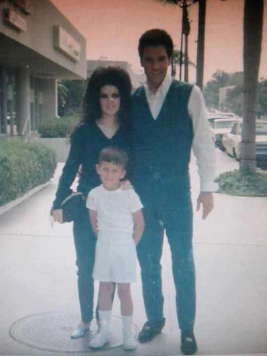 Dedicated To The Presley Family Elvis And Priscilla Elvis