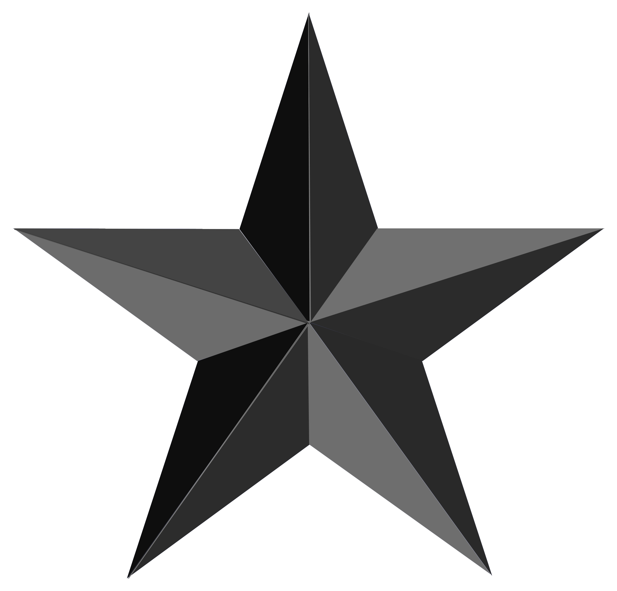 Black Star Png Image Star Clipart Png Png Photo