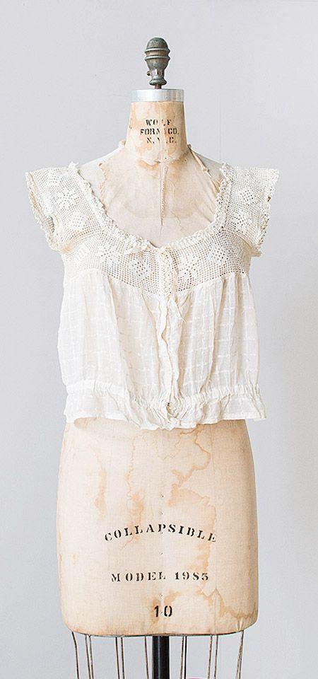 2d341eb51c5 Bassenwaithe Blouse | antique 1910s top | style | Vintage outfits ...