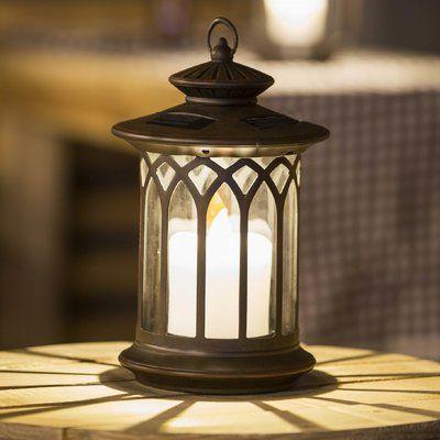 Luxen Home Round Plastic Lantern Wayfair In 2020 Solar Hanging Lanterns Outdoor Floor Lamps Outdoor Hanging Lanterns