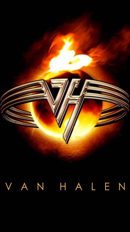 Van Halen Fire Rings | Van halen logo, Van halen, Rock band logos