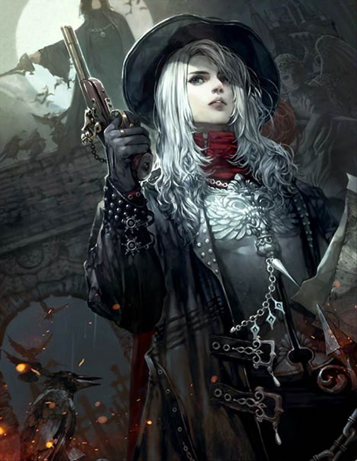 pirate fantasy art female assassin