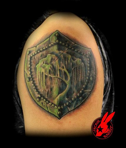 willow tree tattoo willow tree shield tattoo by jackie rabbit willow trees pinterest. Black Bedroom Furniture Sets. Home Design Ideas