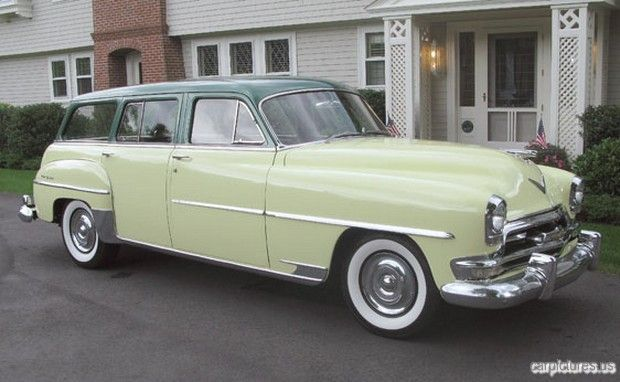 1954 Chrysler New Yorker Town Station Wagon Chrysler New Yorker Chrysler Cars