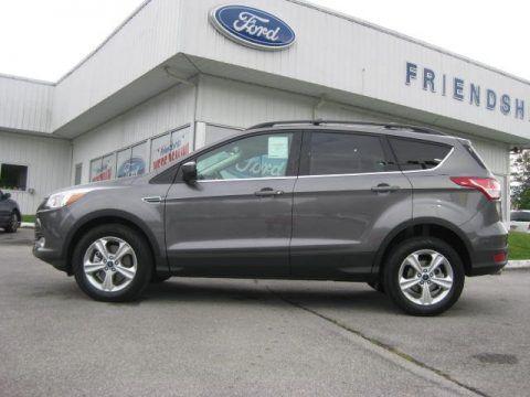 2013 Gray Ford Escape Ford Escape Dodge Chrysler Automobile