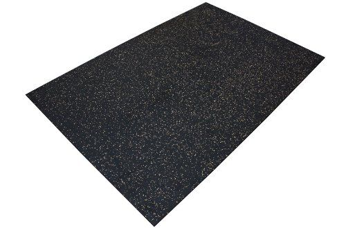 3 8 Quot Premium Heavy Duty Rubber Mat Flooring 24 Sqft 4 X 6 For Only 59 99 You Save 20 00 25 Rubber Mat Rubber Floor Mats Flooring
