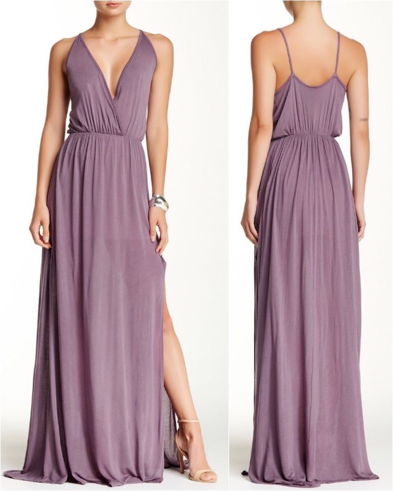 042e79629d Go Couture NEW Lavender Womens Medium M Empire-Waist Maxi Dress - MSRP  168   fashion  clothing  shoes  accessories  womensclothing  dresses (ebay link)