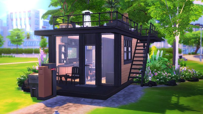 the sims 4 is fostering a massive community of tiny house