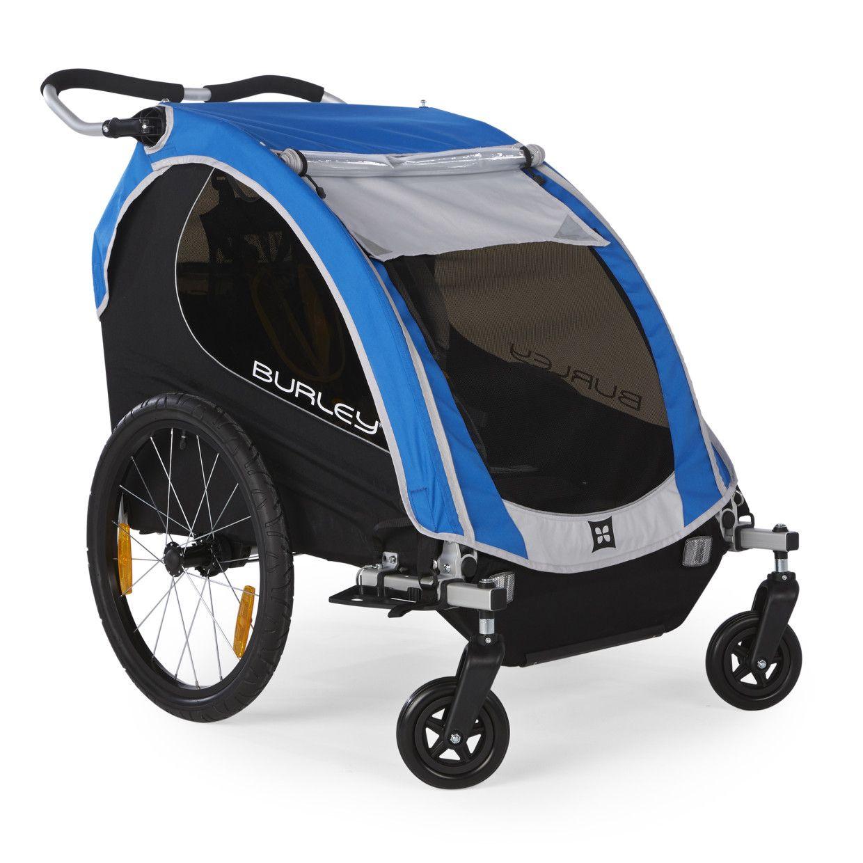 Encore Kids Bike Trailer and Double Stroller Double