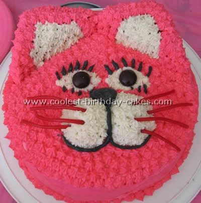 Coolest Cat Birthday Cake Photos and HowTo Tips Birthday cake