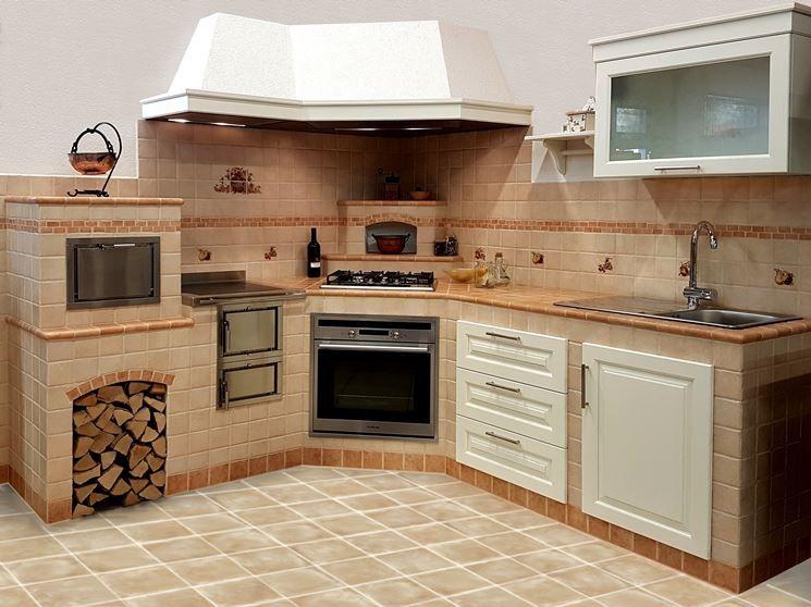 Risultati immagini per CUCINA IN MURATURA | Progetti per cucine ...