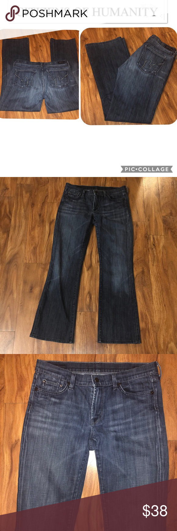 """4f35547738d COH amber stretch high rise bootcut size 29 COH, Citizens of humanity, amber  stretch high rise bootcut, size 29, inseam 30"""". Great condition!"""