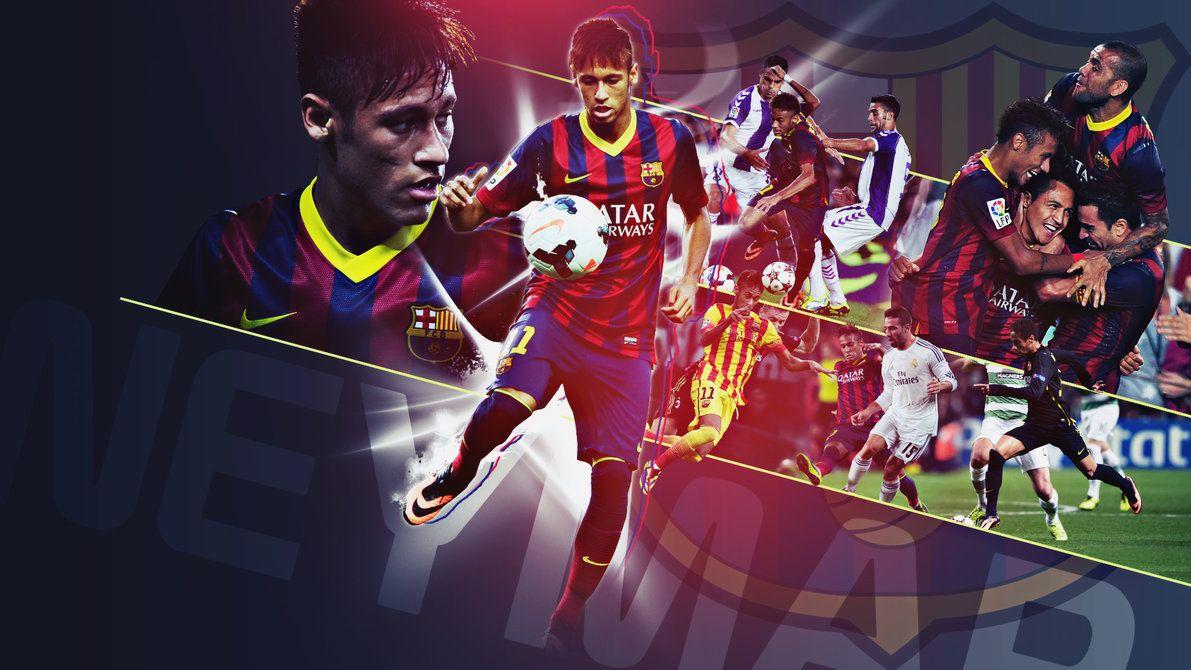 Neymar Wallpaper Hd Barcelona Neymar Neymar Jr Barcelona Sports