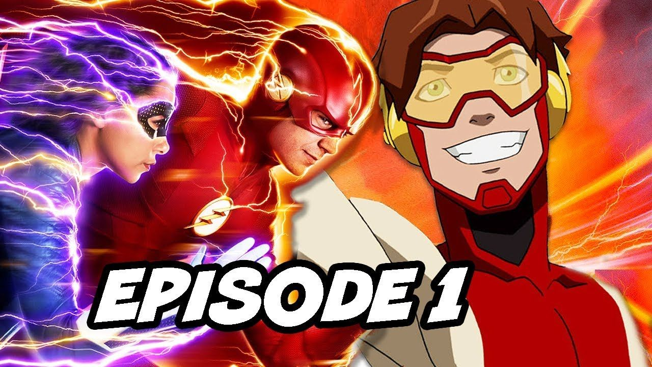 The Flash Season 5 Episode 1 - TOP 10 Easter Eggs and References