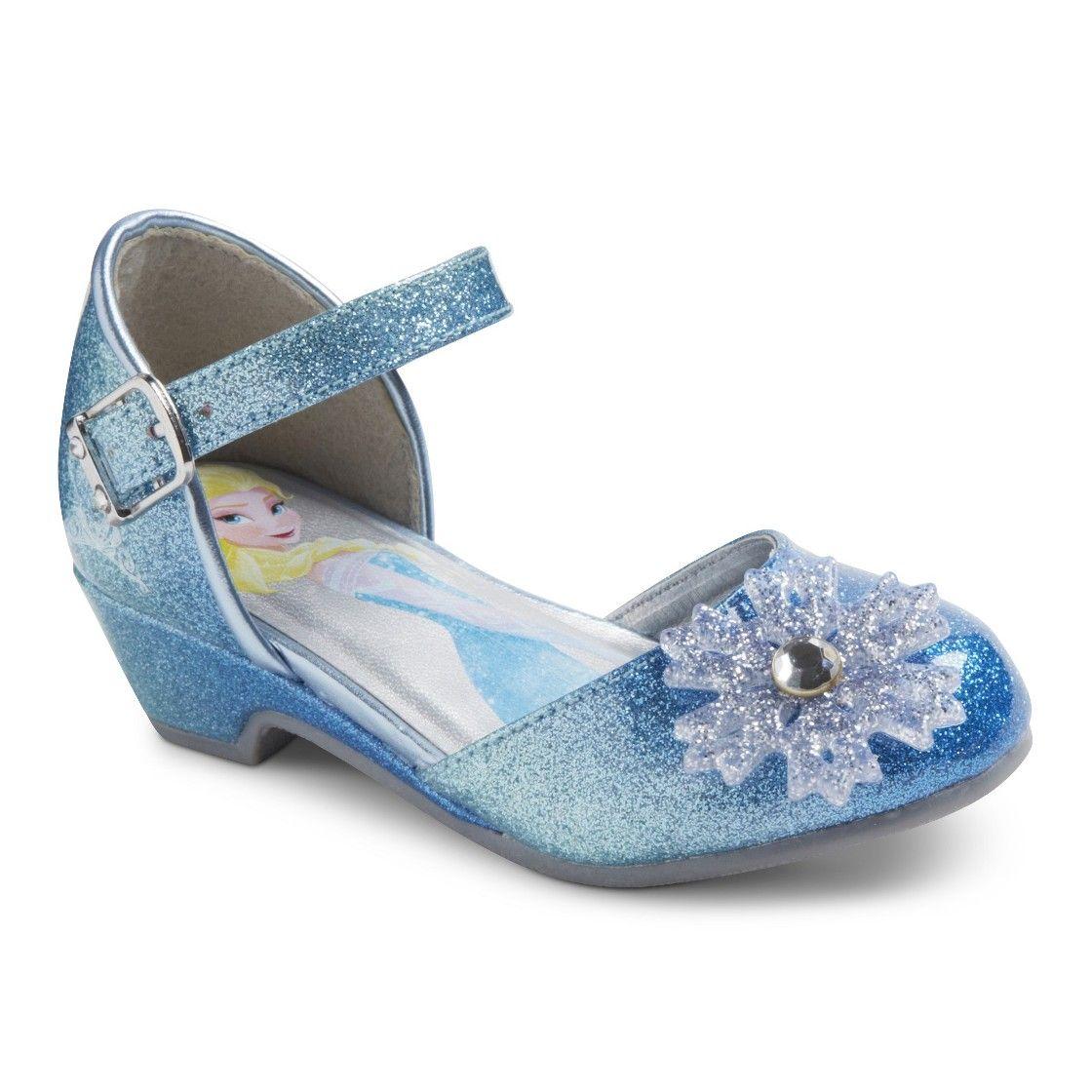 Disney Frozen Toddler Girl\'s Ballet Shoes - Blue | Wedding ...