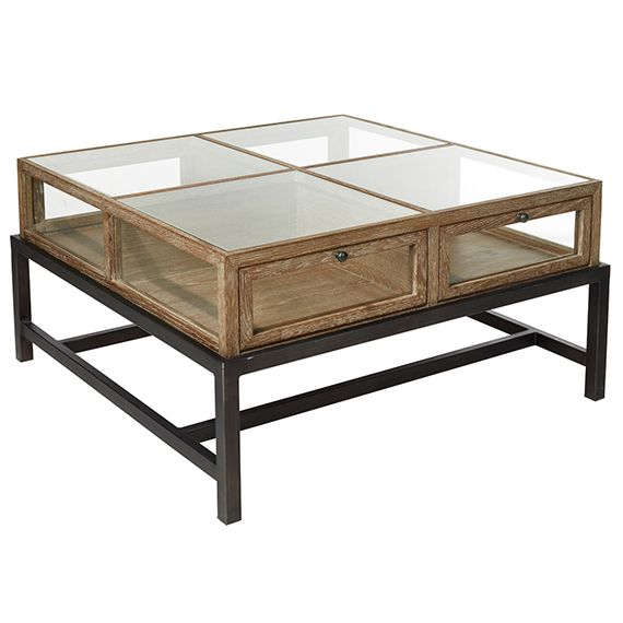 This Beautiful Coffee Table Has Ample Storage Space With An