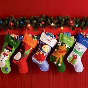 awesome christmas stocking decorating ideas pictures - home