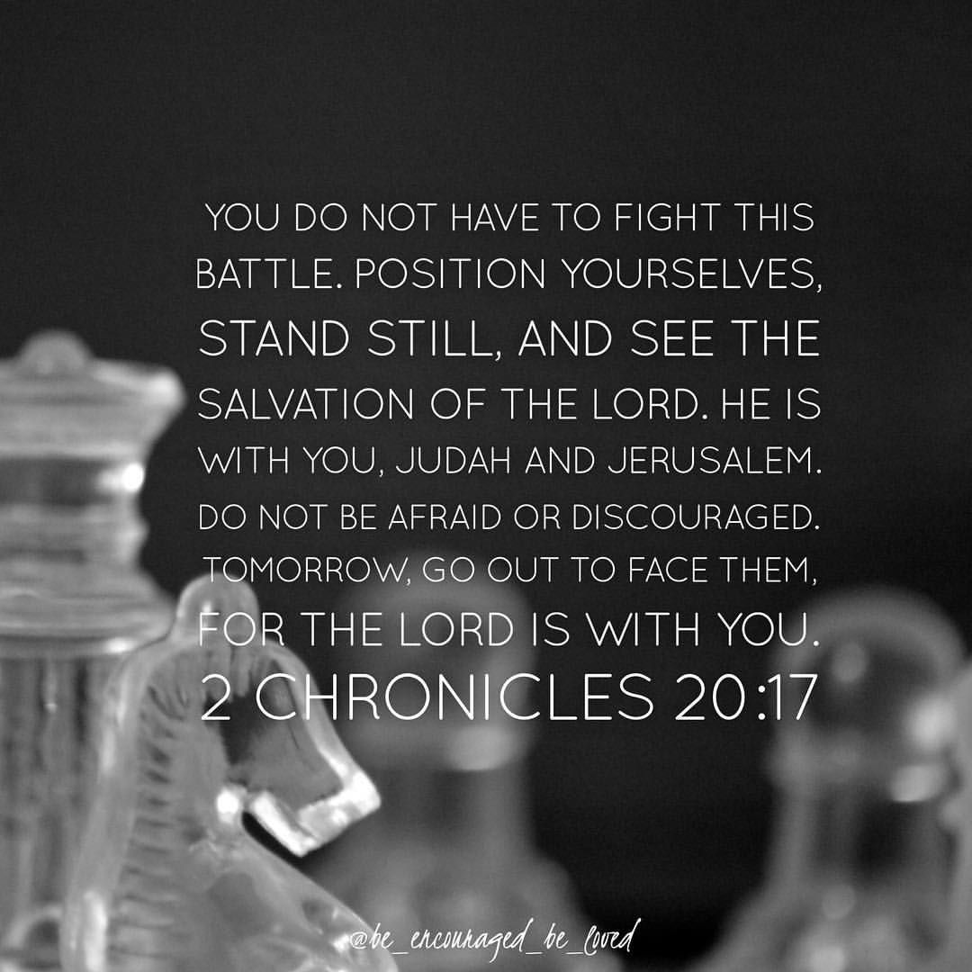 Mighty Warriors In The Bible: The Battle Belongs To The Lord! God Is With You Mighty