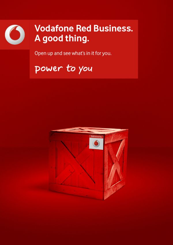 Vodafone Red on Behance