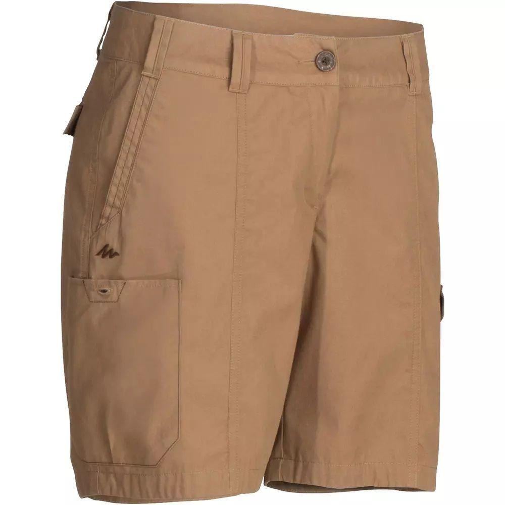 Pantalón Corto Short De Montaña Y Trekking Viaje Forclaz Travel 100 Mujer Pantalones Pantalones Cortos Ropa Termica