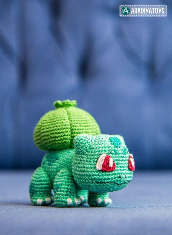 Crochet Pattern of Bulbasaur from \