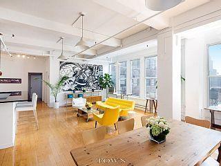 luxury chelsea loft enormous sun filled new york residence of