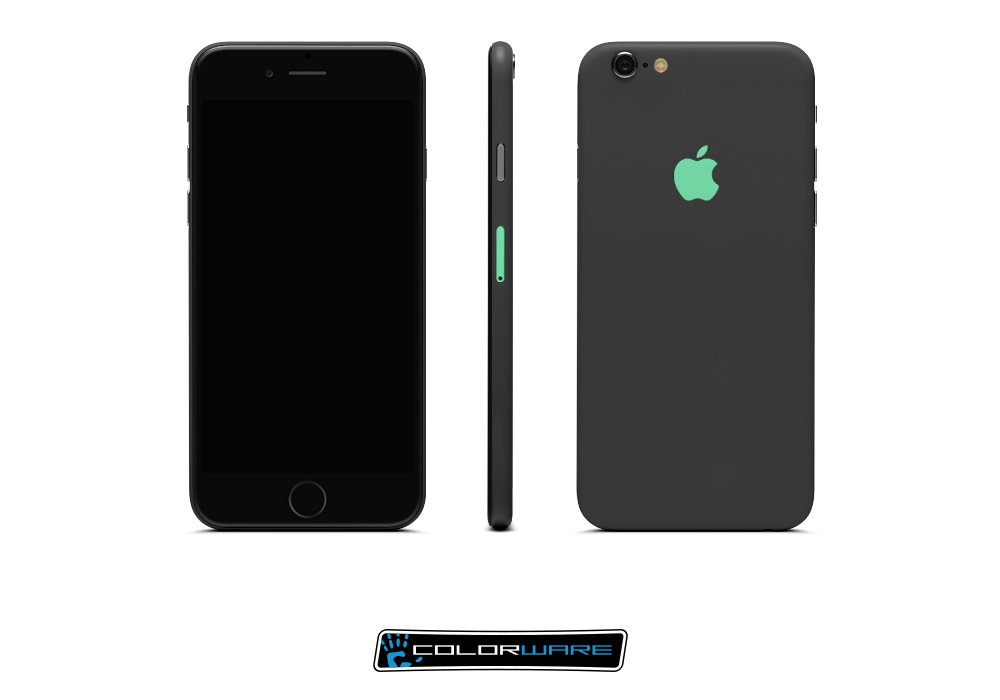 iPhone 6 Customized / mav Design Graphite/Carbon Black/Mint