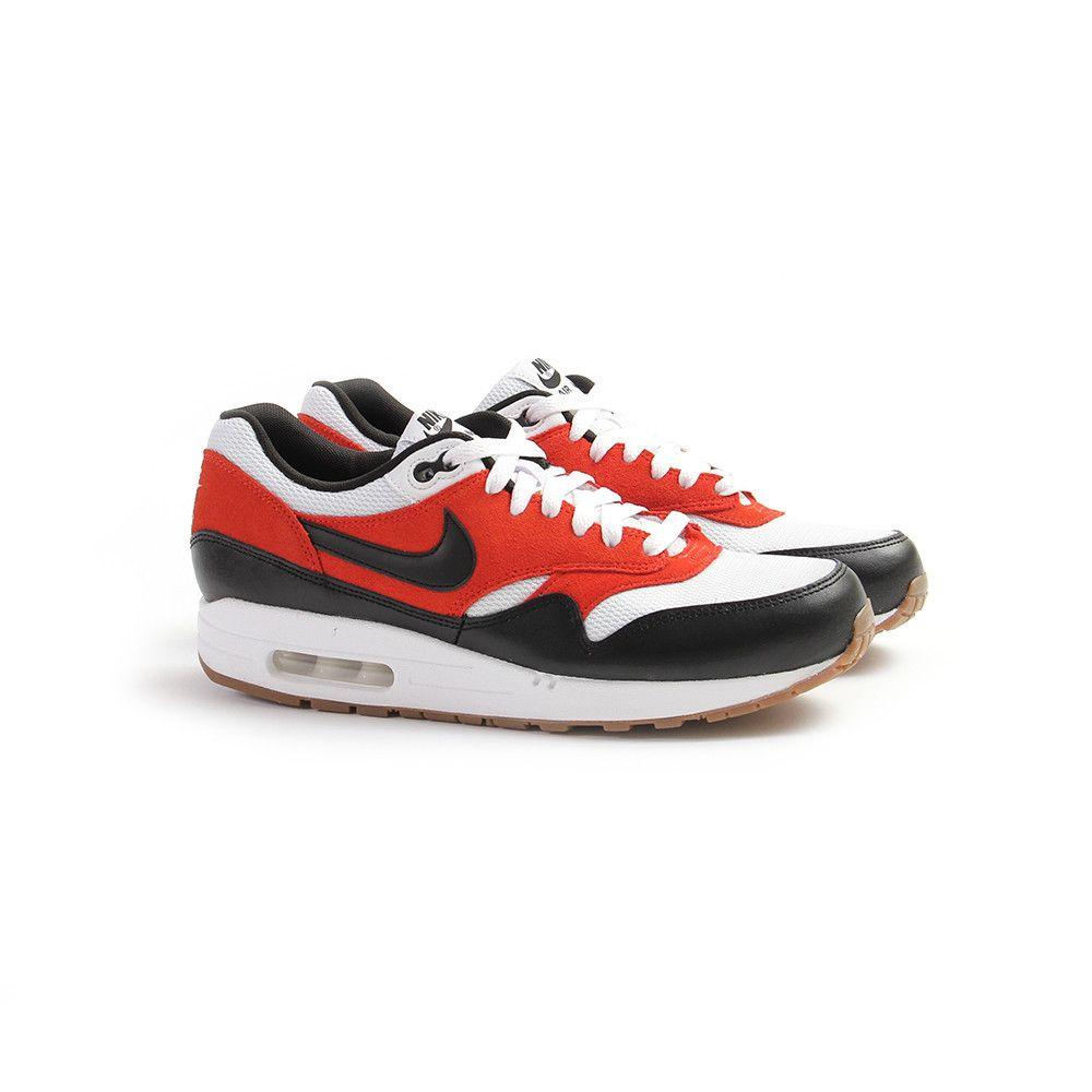 CNCPTS / Nike Air Max 1 Essential (White/Black-Gamma Orange