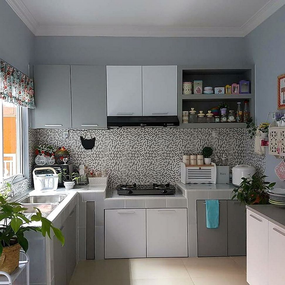 Model motif keramik dapur sempit dapur minimalis idaman for Pemasangan kitchen set
