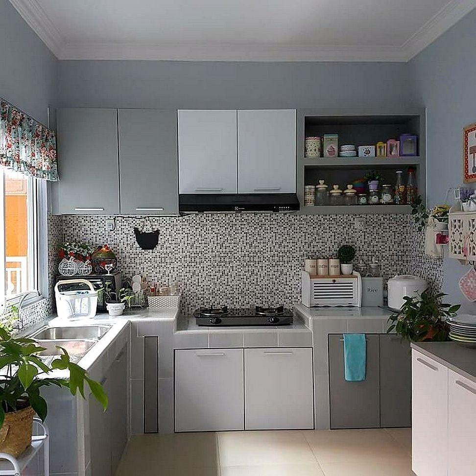 Model Motif Keramik Dapur Sempit (Dengan gambar) | Dekorasi dapur ...