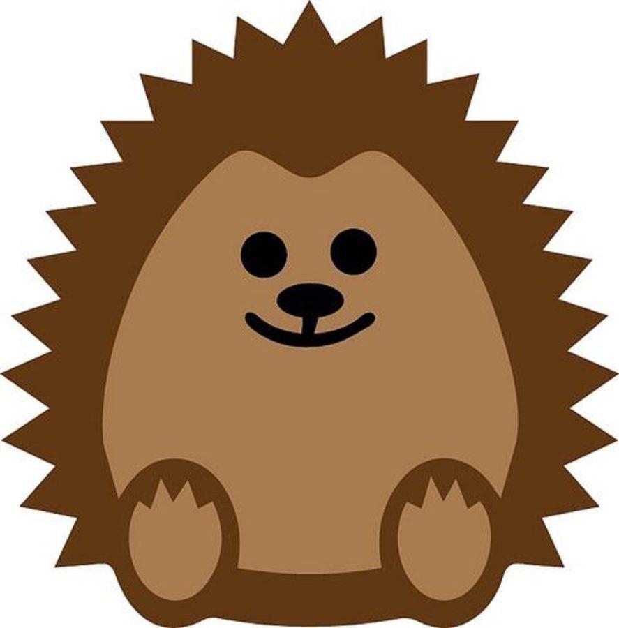 Jesienne Inspiracje Jeze Dekoracja W Przedszkolu Szablony Z Papieru Do Szkoly Na Jesien Na Okna Plansze Z Mat Cardboard Crafts Kids Hedgehog Craft Hedgehog