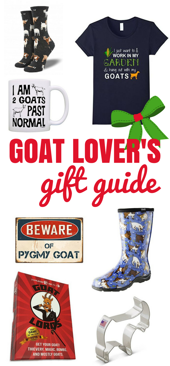 c3739a727 Goat Lover's Gift Guide: 12 super cute gift ideas for goat lovers! Great for