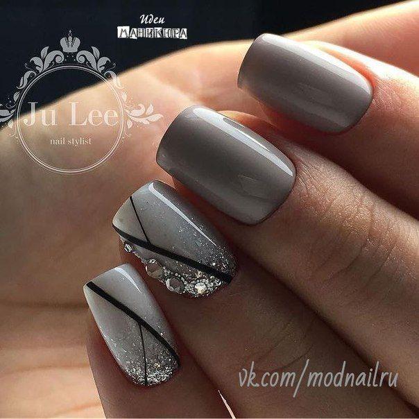Pin de romana sayeed en nails   Pinterest   Diseños de uñas ...