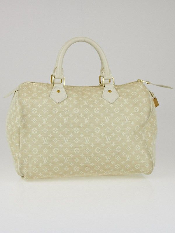 eeba3920c934 Louis Vuitton Dune Monogram Mini Lin Speedy 30 Bag