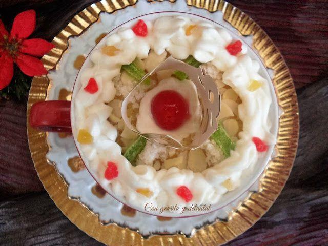 Mug cake Roscón de Reyes