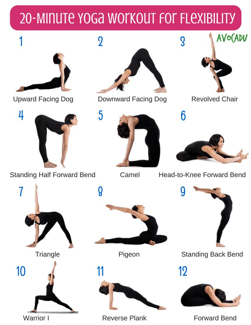 Minute Beginner Yoga Workout Routine for Flexibility  Beginner