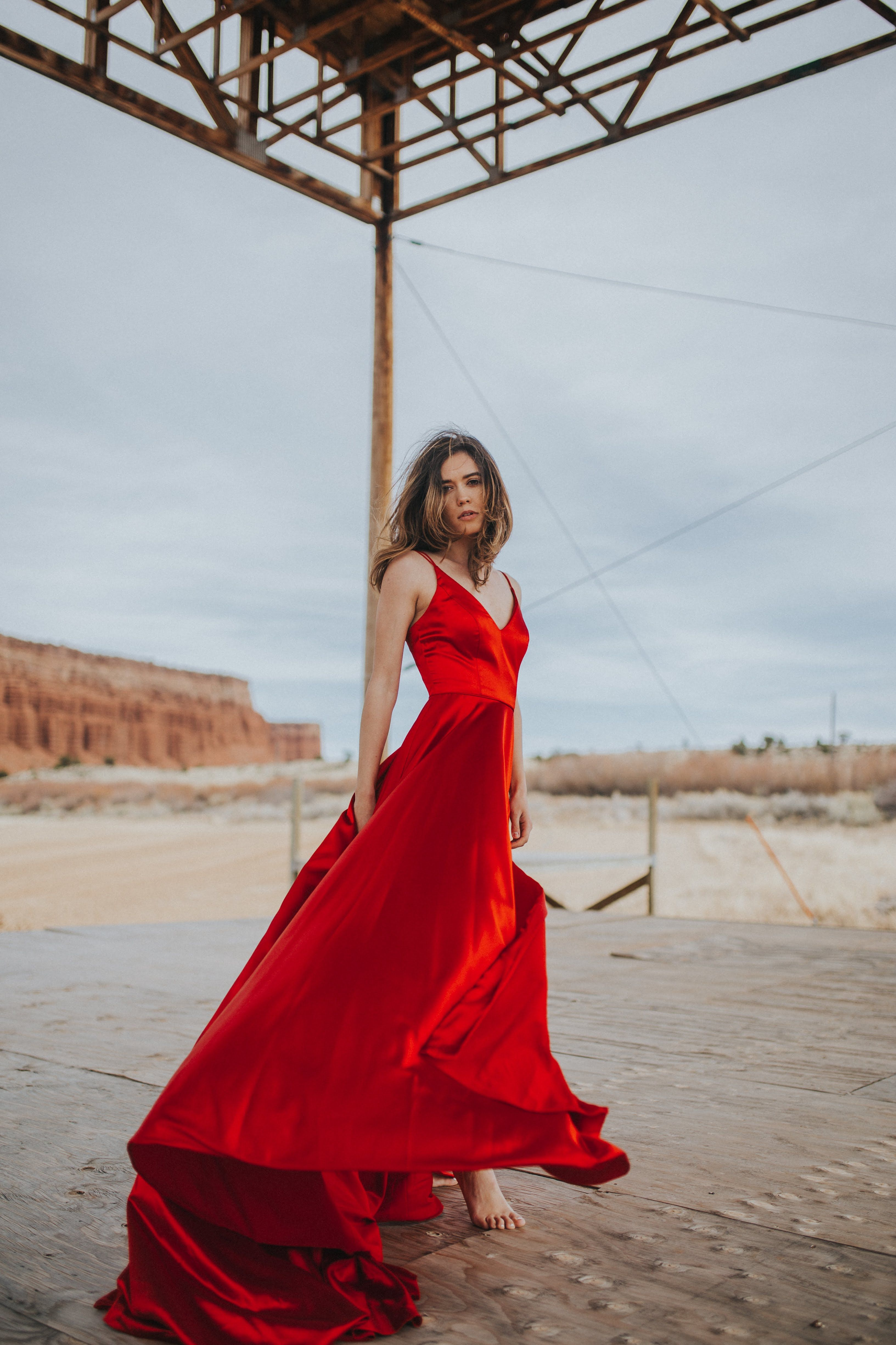 The Perfect Red Dress To Add To Your Closet For The Holidays Red Dress Casual Red Dress Outfit Casual Red Dress Outfit [ 2560 x 1707 Pixel ]