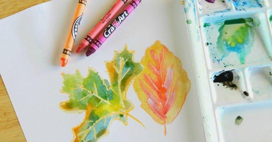 Elise Engh Studios Art For Kids Autumn Art Leaf Art