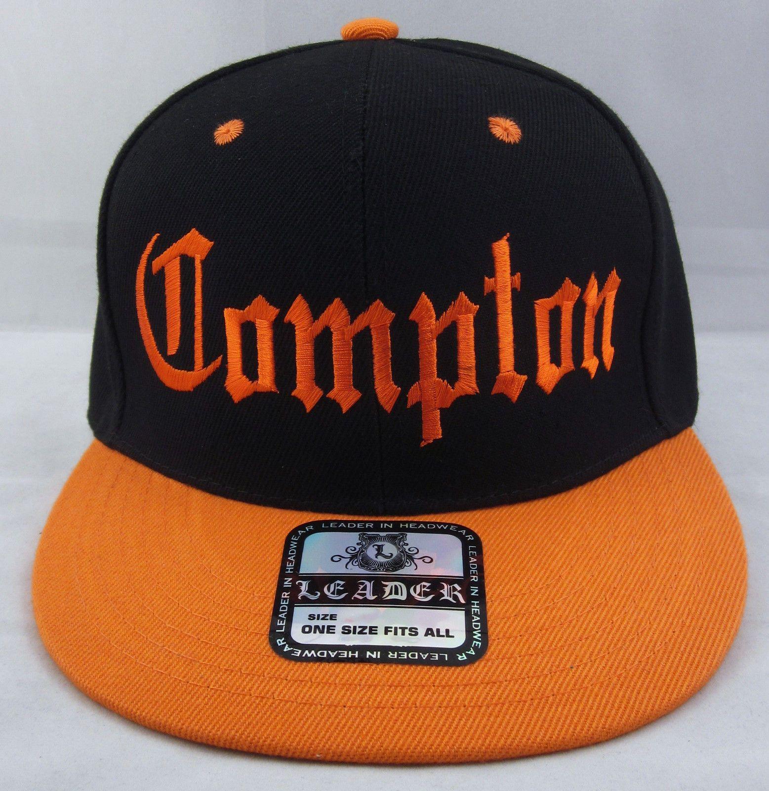 f3d93c07 Details about COMPTON Snapback Hat Los Angeles California Cap South ...