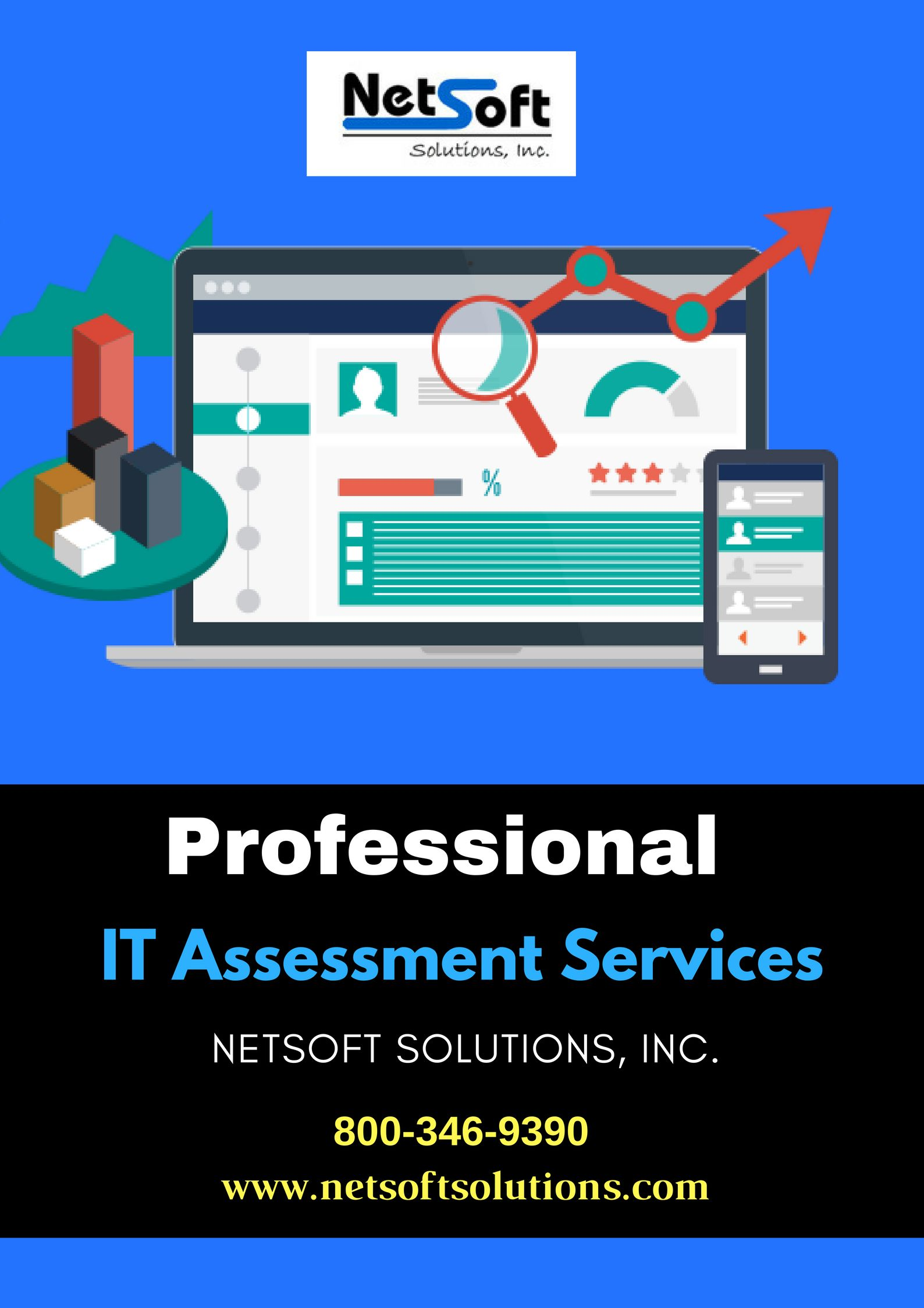 Find The 1 It Assessment Services For Your Information Technology System In New York Netsoft Solutions Is Technology Systems Information Technology Solutions